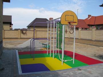 Детская площадка в частном дворе своими руками