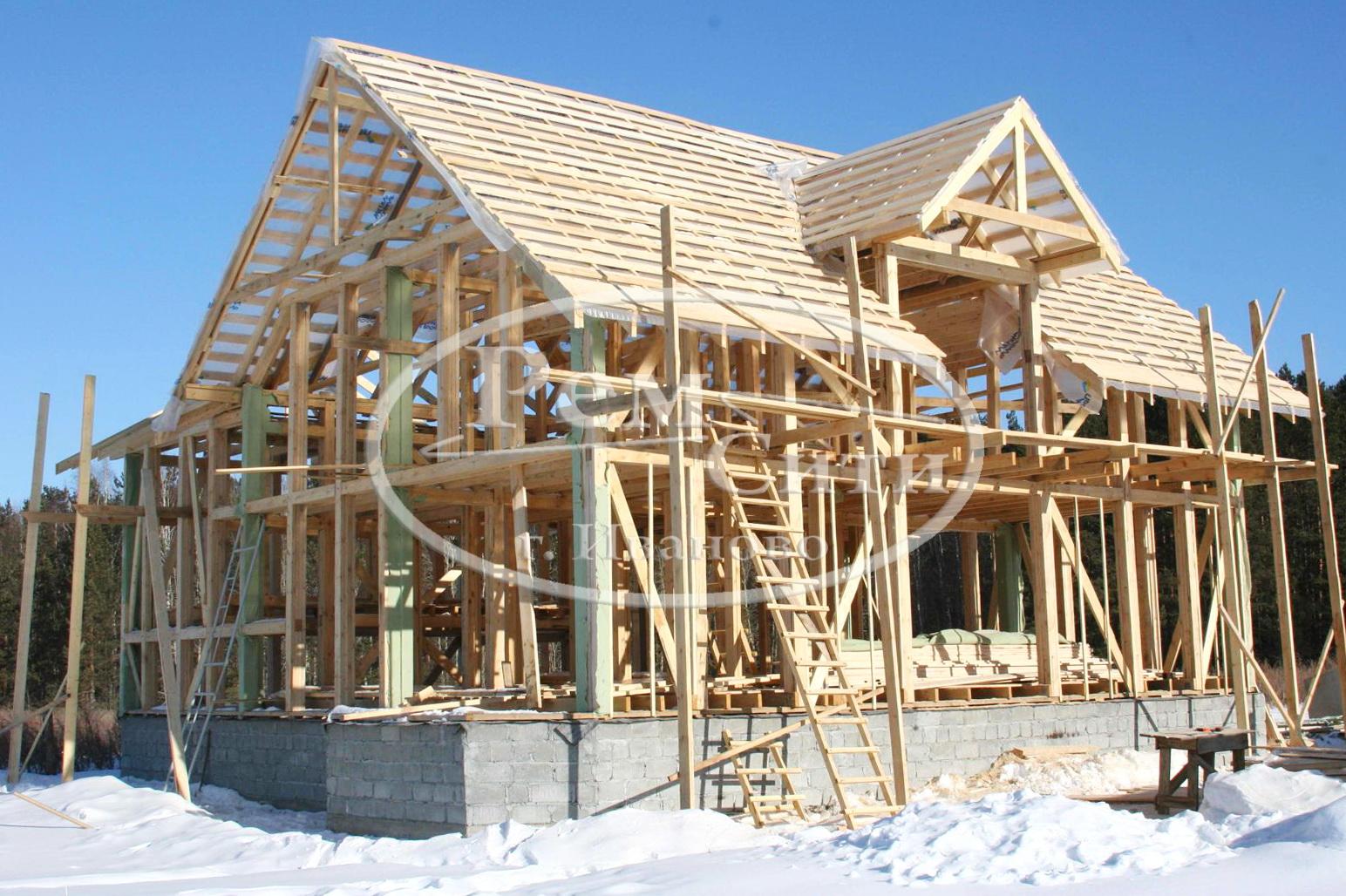 Строительство дома своими руками инструкция фото