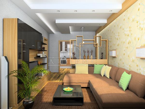 Интерьеры 1 комн квартир