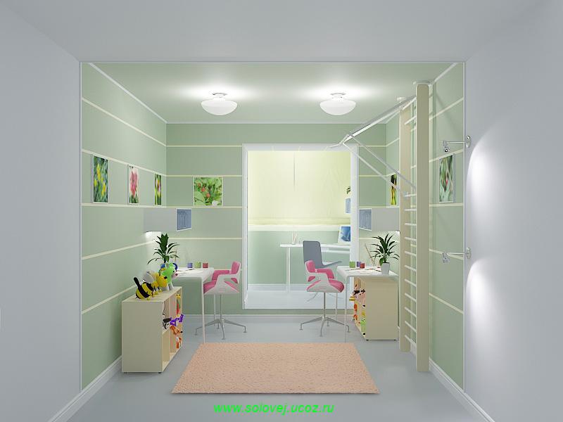 Дизайн квартир фото детских комнат