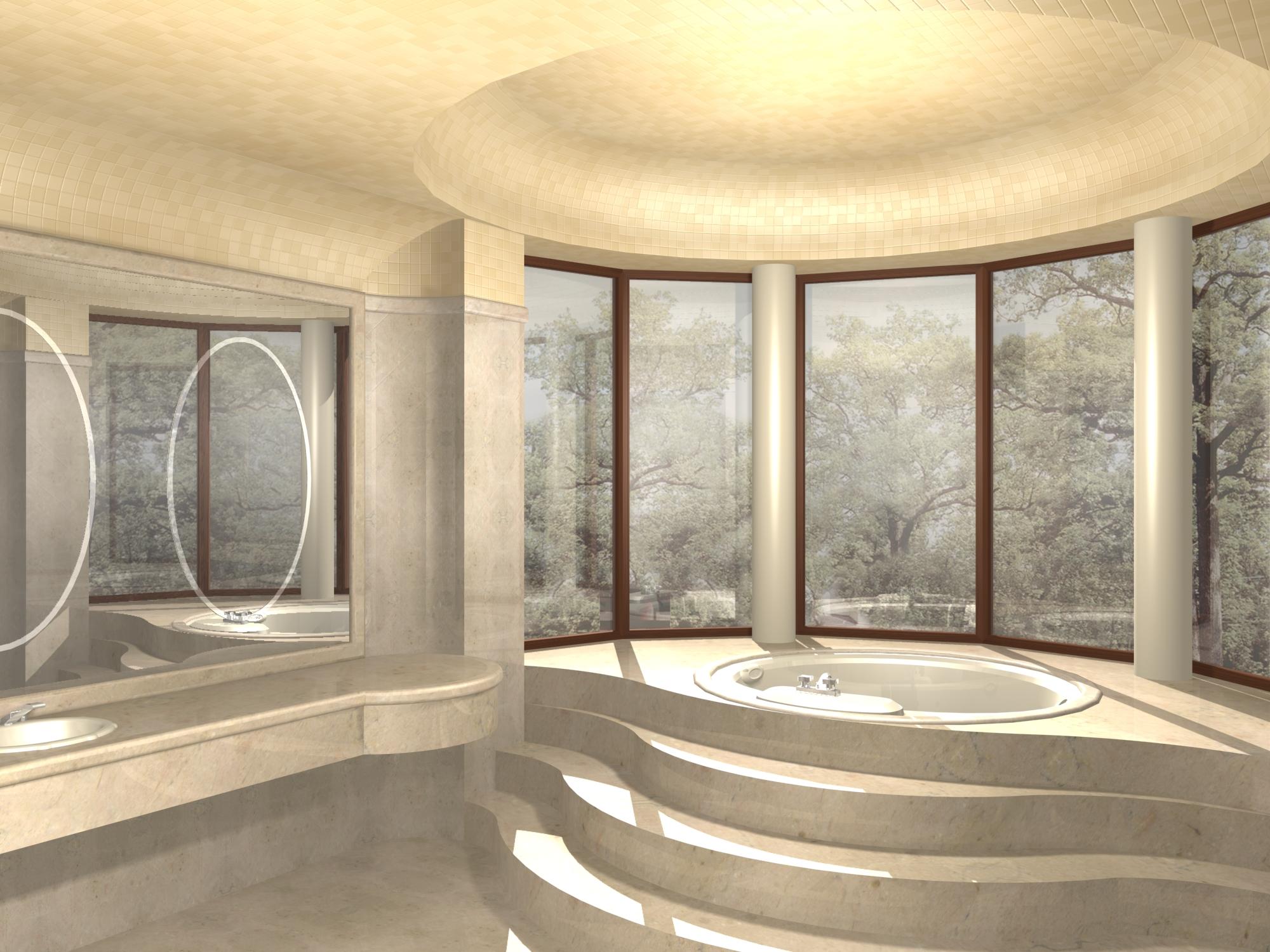 Стиле ванная комната в стиле модерн
