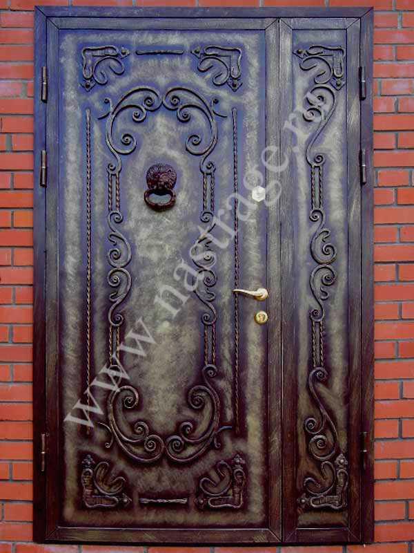 каталог элитных кованных входных дверей