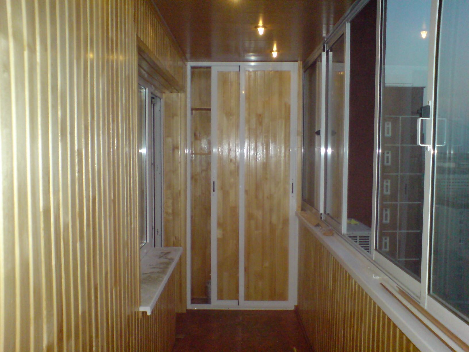 Утепление балкона в блочном доме..