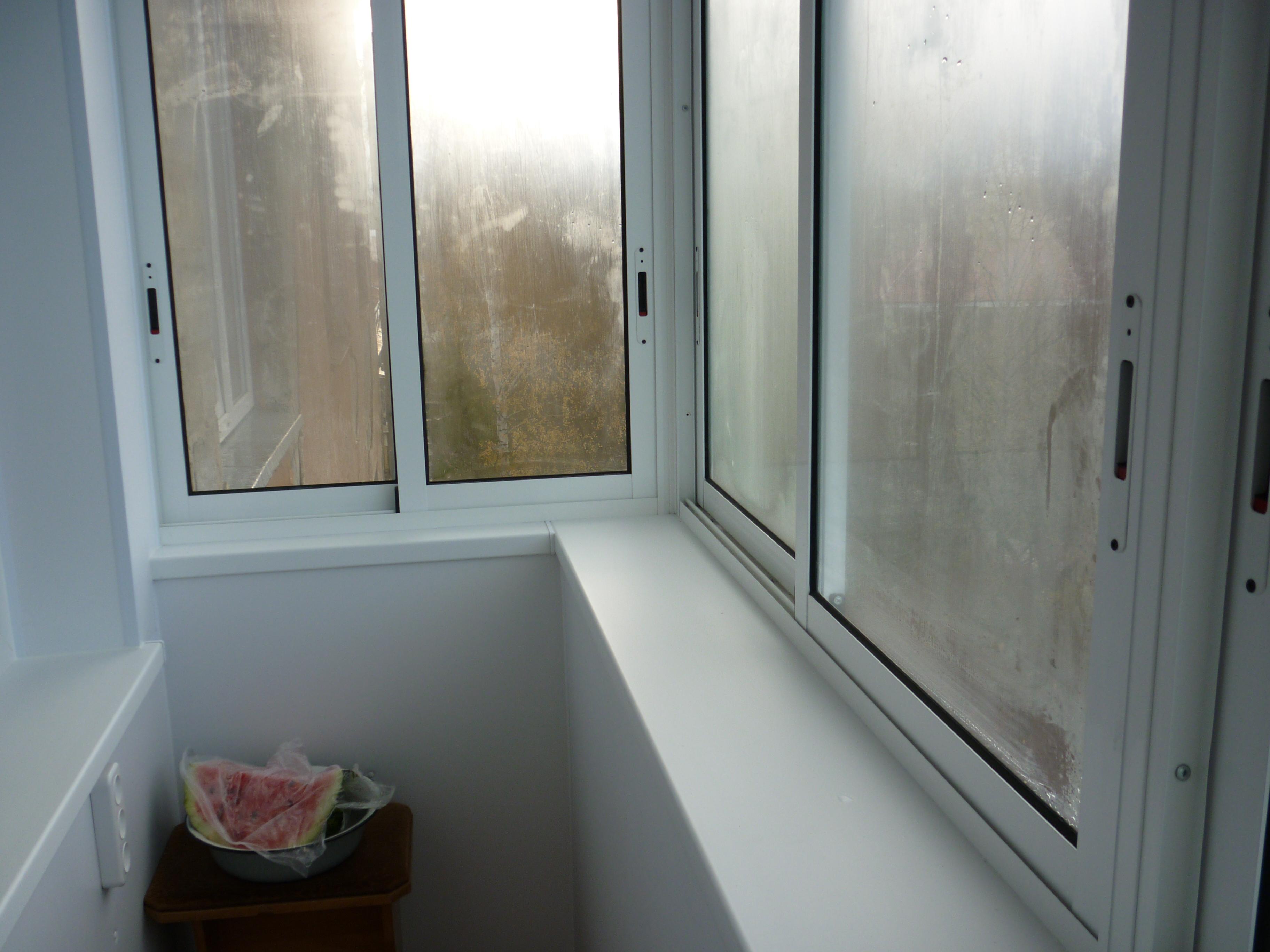 Отделка сэндвич-панелью, балкон :: балкон, лоджия :: стройта.