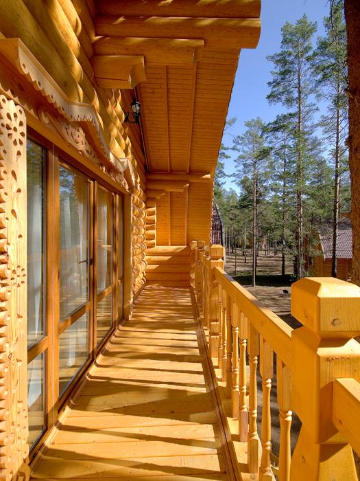 Как сделать балкон в деревянном частном доме на