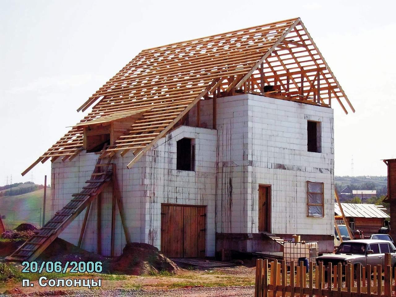 Дом из пенопласта и бетона 124