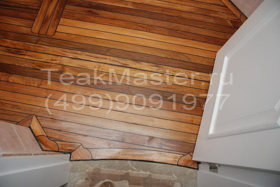 Интерьер в ванной комнате 4 кв.м