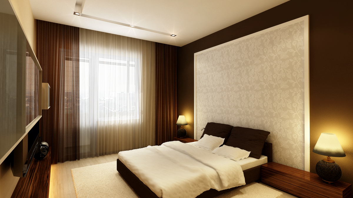 Дизайн спальни дизайн квартиры