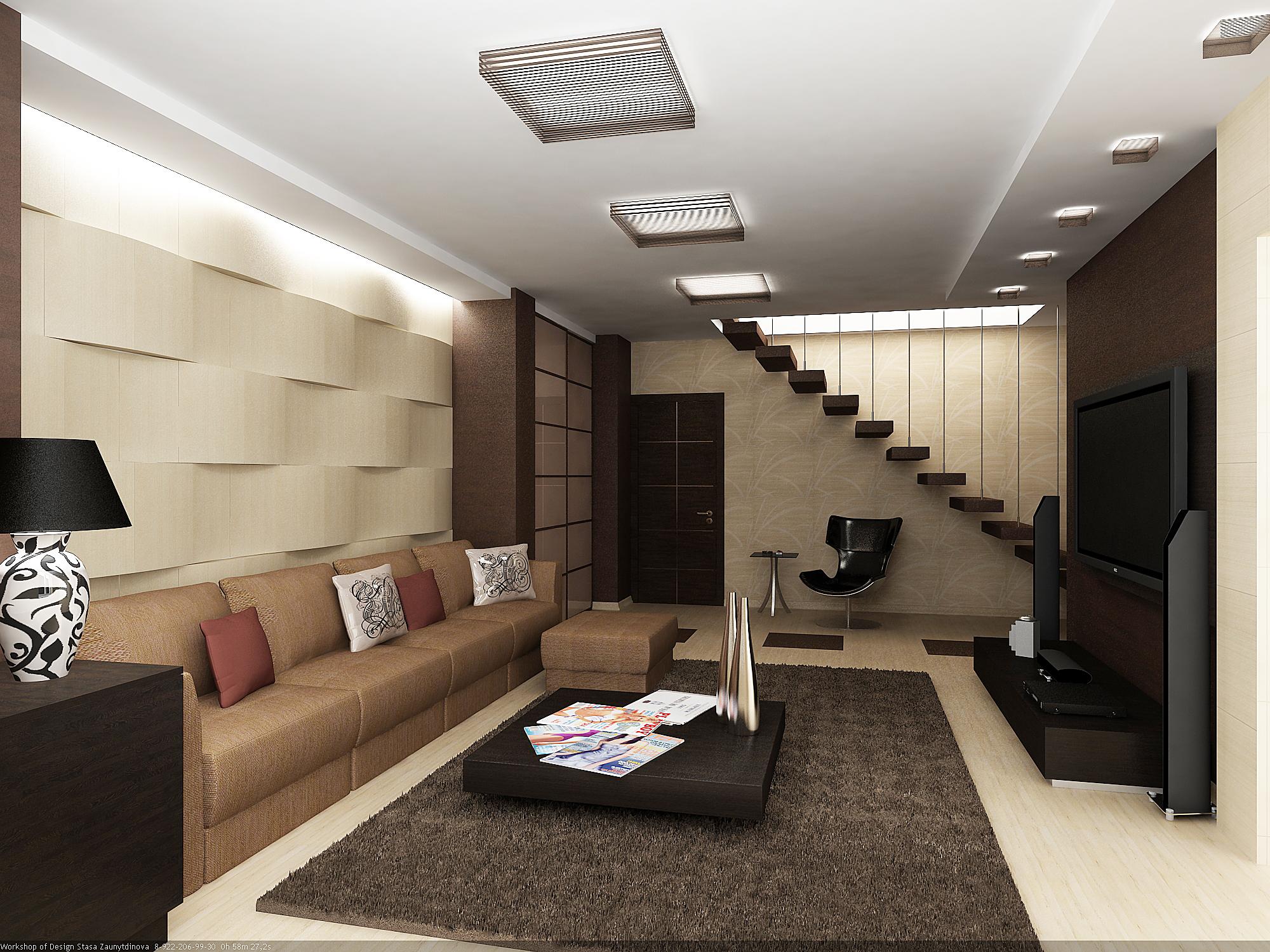 Двухуровневые квартиры дизайн интерьера