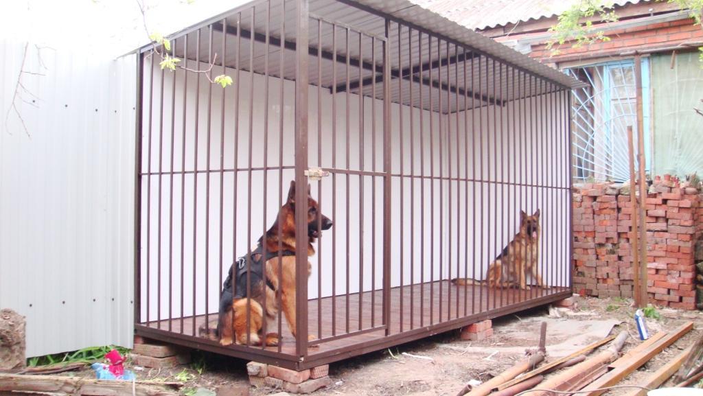Как построить вольер для собак своими руками