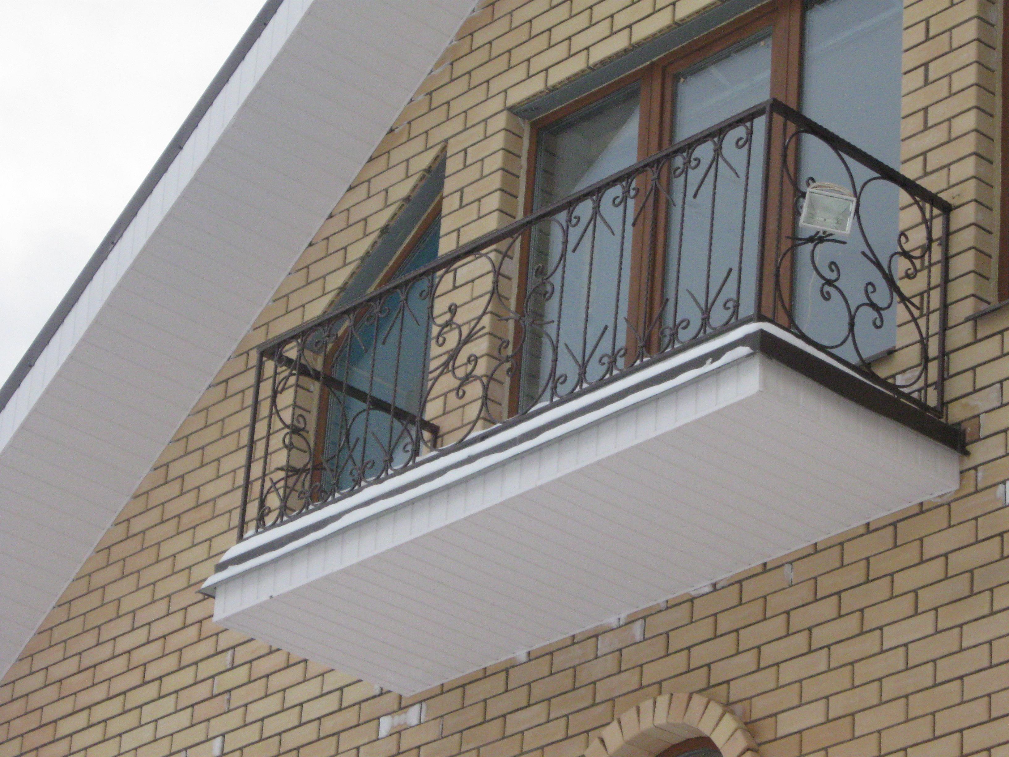 Заказать балконы и ограждения балконов кованые в магнитогорс.