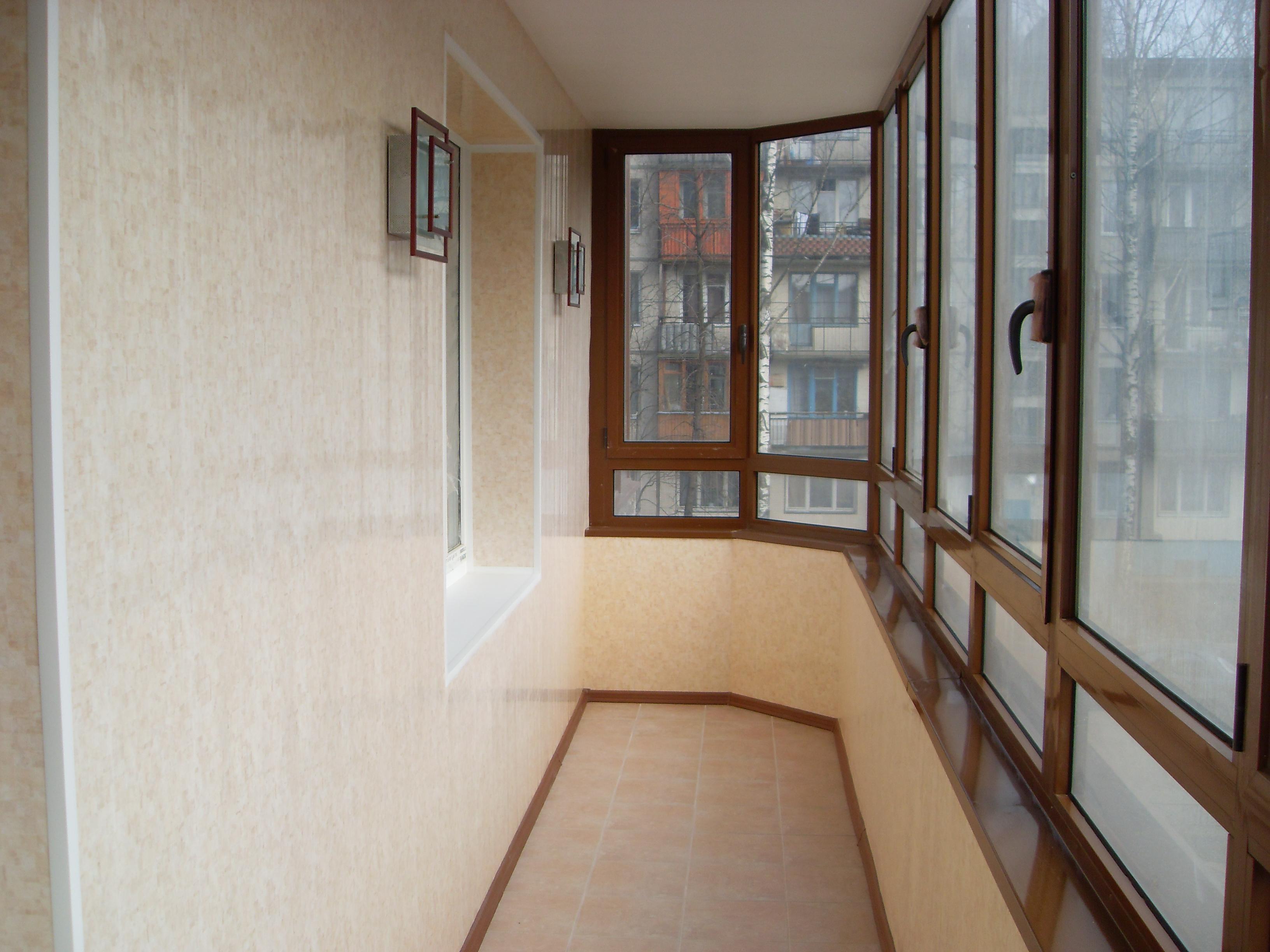 Балконы ремонт своими руками фото
