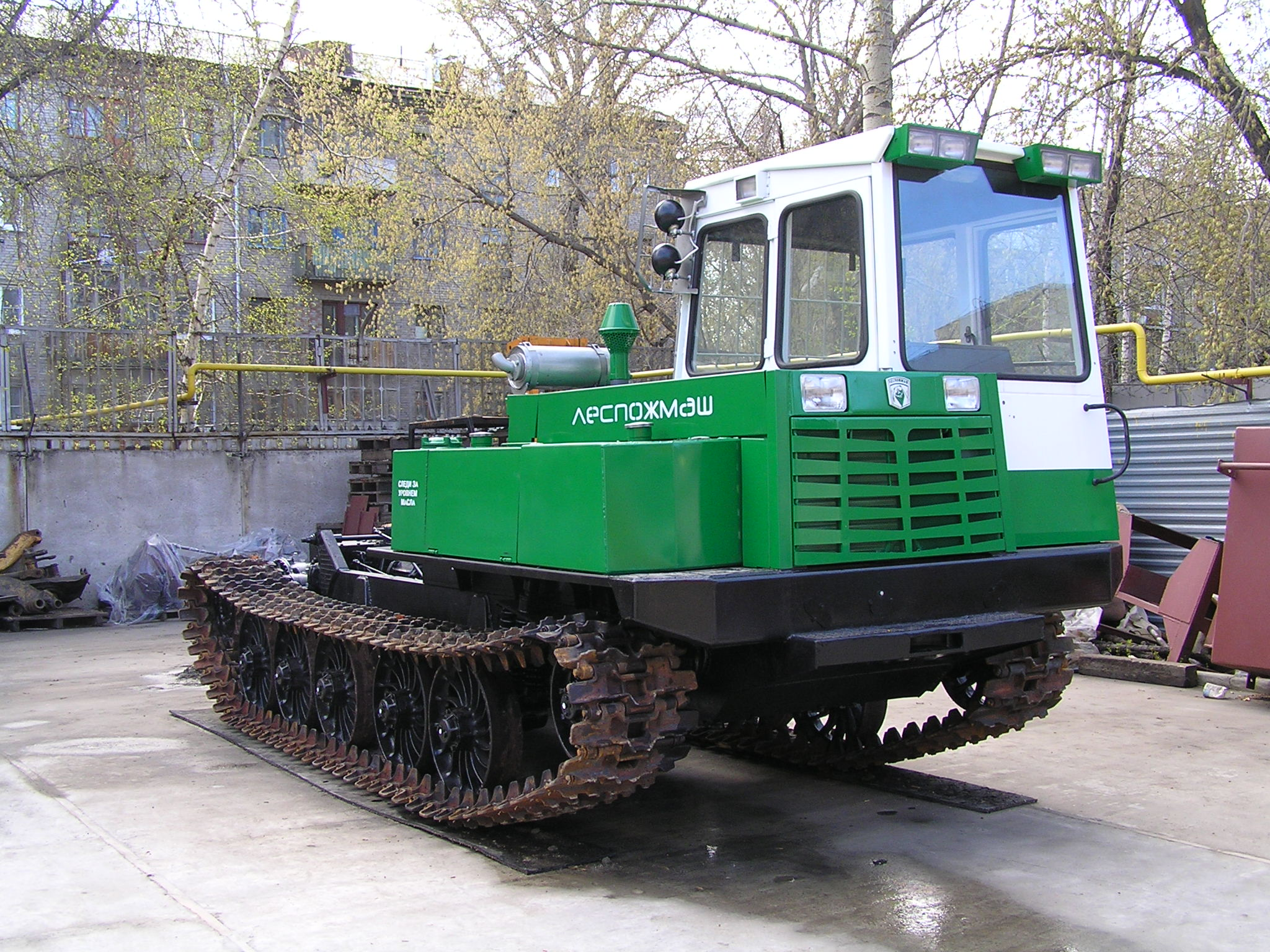 Tractor Repair TT 4 in the woods. - YouTube