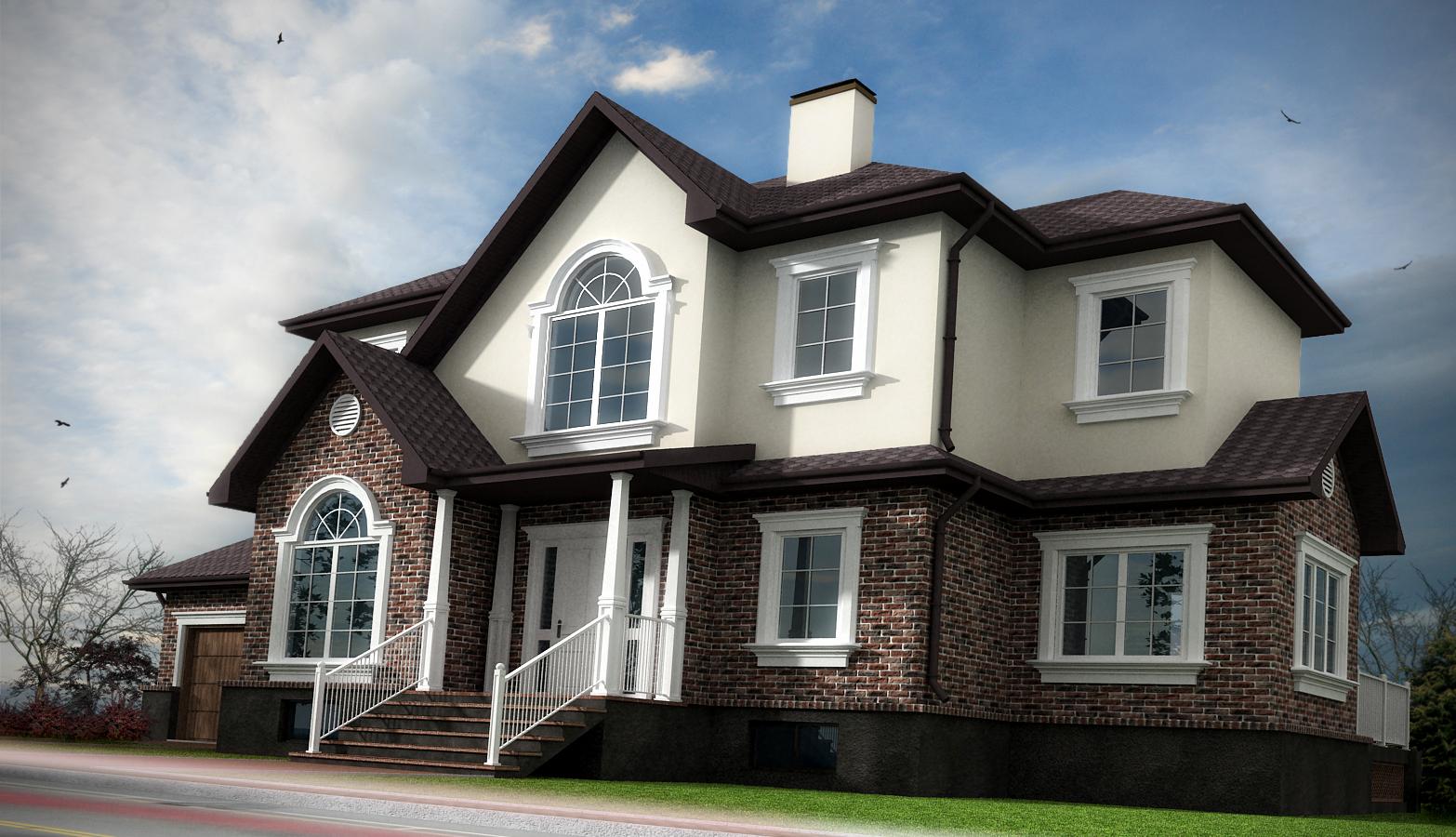 Коттедж построенный коттедж дома