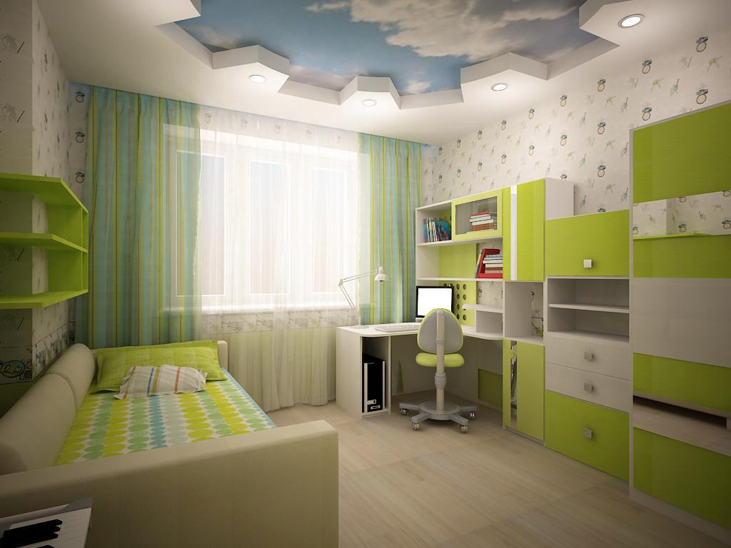 Идеи дизайна детской комнаты для мальчиков